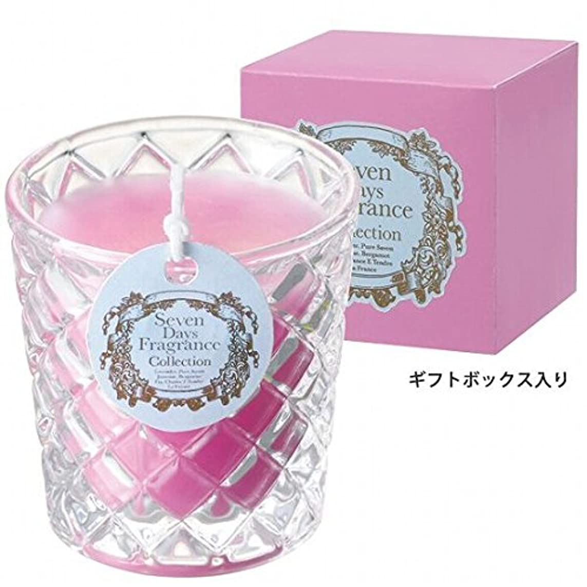 連結する暴力かび臭いカメヤマキャンドル(kameyama candle) セブンデイズグラスキャンドル(金曜日) 「 フローラルブーケ 」