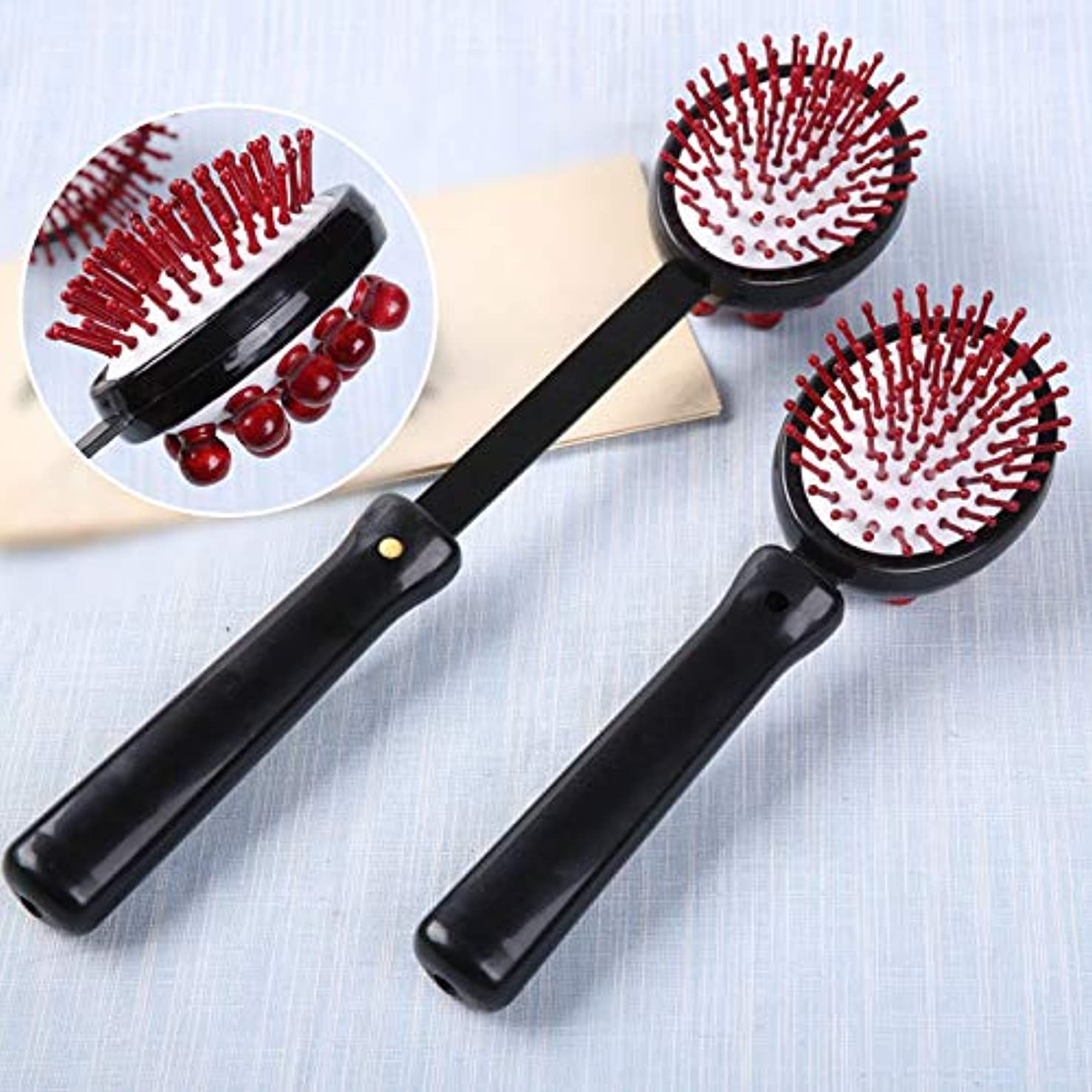 バリケード囲いコース1 PC Back Knock Massage Hammer Stress fatigue Relief Handle Wood Scratcher Relaxing Massager Stick Body Health...