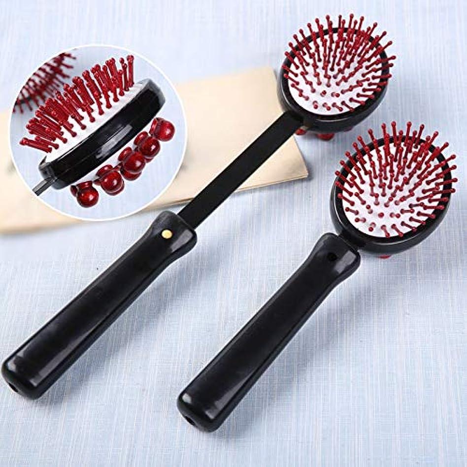二あご回復1 PC Back Knock Massage Hammer Stress fatigue Relief Handle Wood Scratcher Relaxing Massager Stick Body Health...