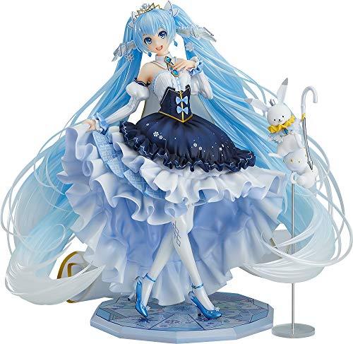 『キャラクター・ボーカル・シリーズ01 初音ミク 雪ミク Snow Princess Ver. 1/7スケール ABS&PVC製 塗装済み完成品フィギュア』画像