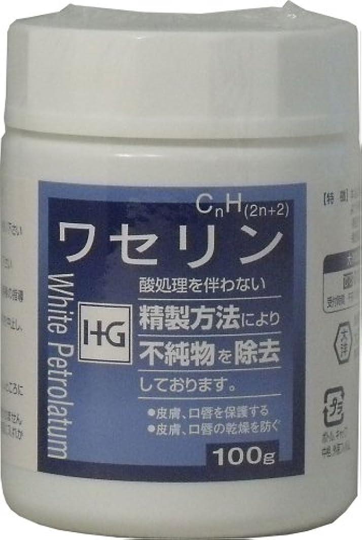 お酒任命流皮膚保護 ワセリンHG 100g ×5個セット