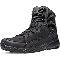 CQR Men's Combat Military Tactical Mid-Ankle/Low-Cut Boots EDC Outdoor Assault