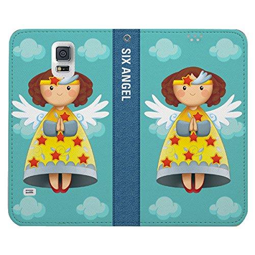 Galaxy S4 / ギャラクシー S4 (SC-04E) 対応 ケース Six Angel Flip Wallet シックス エンジェル フリップ ウォーレット ケース スマホ カバー Kona / コナ