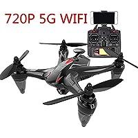 RaiFu X198/GW198ドローン GPS搭載 720Pカメラ付き 生中継可能 ヘッドレスモード搭載 2.4G 4CH 6軸ジャイロ 2.4Gリモートコントロール 5G Wifiiトランス距離約300m FPV 高度維持機能 操縦可能距離400M RC Quadcopter ギフト 贈り物 クリスマス レッド