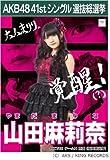 【山田 麻莉奈】AKB48 僕たちは戦わない 41st シングル選抜総選挙 劇場盤限定 ポスター風生写真 HKT48チームH
