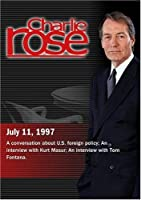Charlie Rose with Richard Haass; Kurt Masur; Tom Fontana (July 11 1997)【DVD】 [並行輸入品]