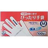奥田薬品 介護用 使いきりぴったり手袋 M 100枚入