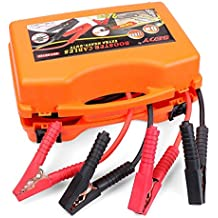 HORUSDY 20 Ft/6M 1200AMP Heavy Duty Jump Leads Booster Jumper Start Cables Surge Protection with Case & Safety Gloves