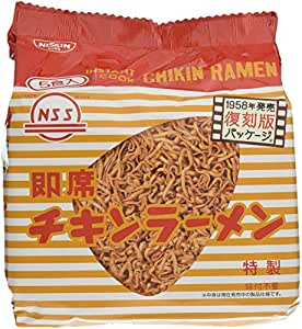 日清チキンラーメン復刻版5食パック425g×6袋