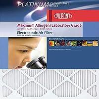 デュポンプラチナ最大Allergenエアフィルタ、4-パック 15-Inch by 20-Inch by 1-Inch AF-P1520.4 4