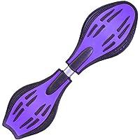 エスボード 子供用 キッズ ジュニア ミニモデル スケボー Jボード 光るタイヤ パープル Aタイプ FJ1541-purple