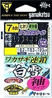 がまかつ(Gamakatsu) ワカサギ連鎖 白雪 袖 7本 W231 1.5-0.2.