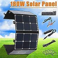 携帯用180W 18Vの太陽電池パネルの折りたたみ屋外のための電話電池USB港のためのFoldable防水充電器力銀行