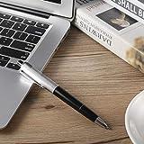ユニセックスファニーノベルティメタルペン電気ショックおもちゃユーティリティガジェットギャグジョークファニートリックいたずら最高のギフト用友人 画像