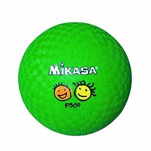 ミカサ プレイグラウンドボール グリーンキッズ/小学校用 P500