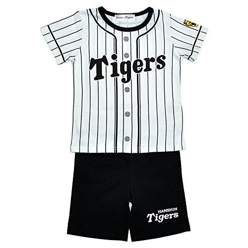 阪神タイガース 新ユニホームキッズパジャマ (ホーム)【贈り物にも最適】 (110cm)