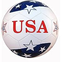 新しいプレミアム公式サイズサッカーボールUSAフラグ