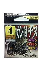 ささめ針(SASAME) RT-05 カン付チヌブラック 4号