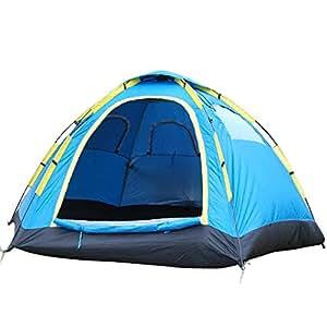 life_mart 大型 ワンタッチテント 4~5人用 280×280×140cm ファミリーテント キャンプ アウトドア