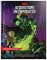 Dungeons & Dragons Acquisitions Incorporated HC (D&D Campaign Accessory Hardcover Book)【洋書】 [並行輸入品]