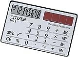 CITIZENその他 手帳サイズ電卓 W11-Sの画像