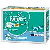 【ケース販売】 パンパース おしりふき ふわふわシート 詰め替え 63枚x12パック