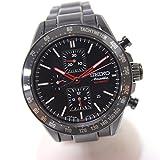 (セイコー)SEIKO 6S28-00H0 SAEH01 Ananta アナンタ BRIGHTZ ブライツ 限定品 裏スケ クロノグラフ 腕時計 SS/セラミック メンズ 中古