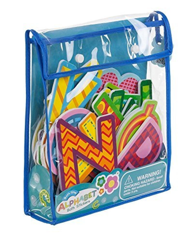 Meadow Kids Alphabet Bath Time Stickers [並行輸入品]