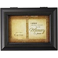 Carsonホームアクセント17949 Moment Memories Bereavement音楽ボックス、8インチby 15.24 CM by 2 – 3 / 4インチ