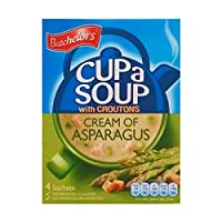 Batchelors Cup a soup Cream of Asparagus with Croutons 3 x 117gm