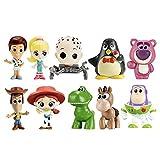 マテル ディズニー ピクサー トイストーリー ミニ フィギュア 10体セット MATTEL Disney Pixar Toy Story MINIS バズ ウッディ ジェシー ブルズアイ ロッツォ レックス ベビーフェイス ウィージー バービー ケン