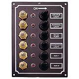 電装品 LEDスイッチパネル 6連 C91338
