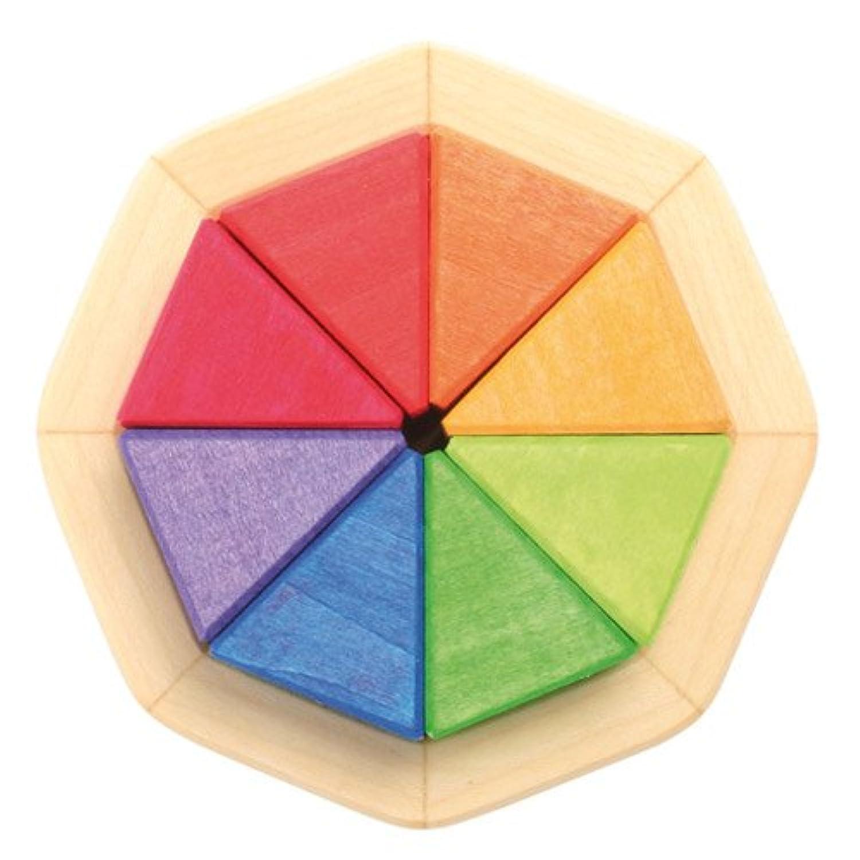 Grimm's Spiel & Holz Design(グリムス社) 8カラー積み木【GRI-43480】