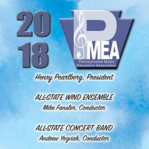 amazon music pennsylvania all state wind ensembleのdigital booklet