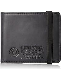 [エレメント] レザー ウォレット 小銭入れ (バンドのホールドテープ) 【 AH022-996 / ENDURE LEATHER WALLET 】 財布 二つ折り かわいい AH022-996