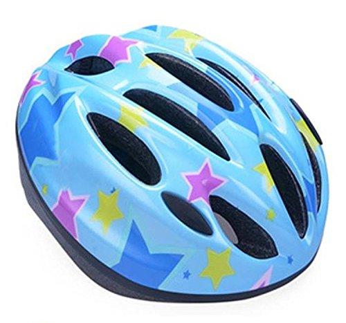 RIHE 軽量 自転車 ヘルメット 子供用 キッズ スケート 安全 ジュニア こども用 男の子 女の子 通学 アジャスター付き