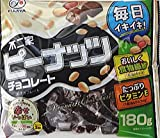 不二家 ピーナッツチョコレート180g×18袋