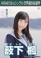 【薮下楓】 公式生写真 AKB48 Teacher Teacher 劇場盤特典