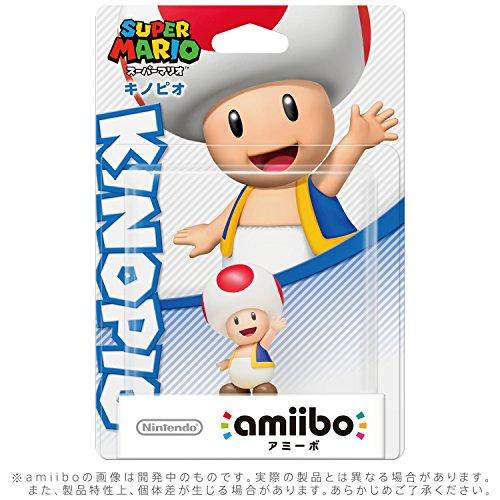 amiibo キノピオ (スーパーマリオシリーズ)