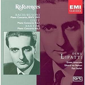 Lipatti : Lipatti / Liszt / Bartok