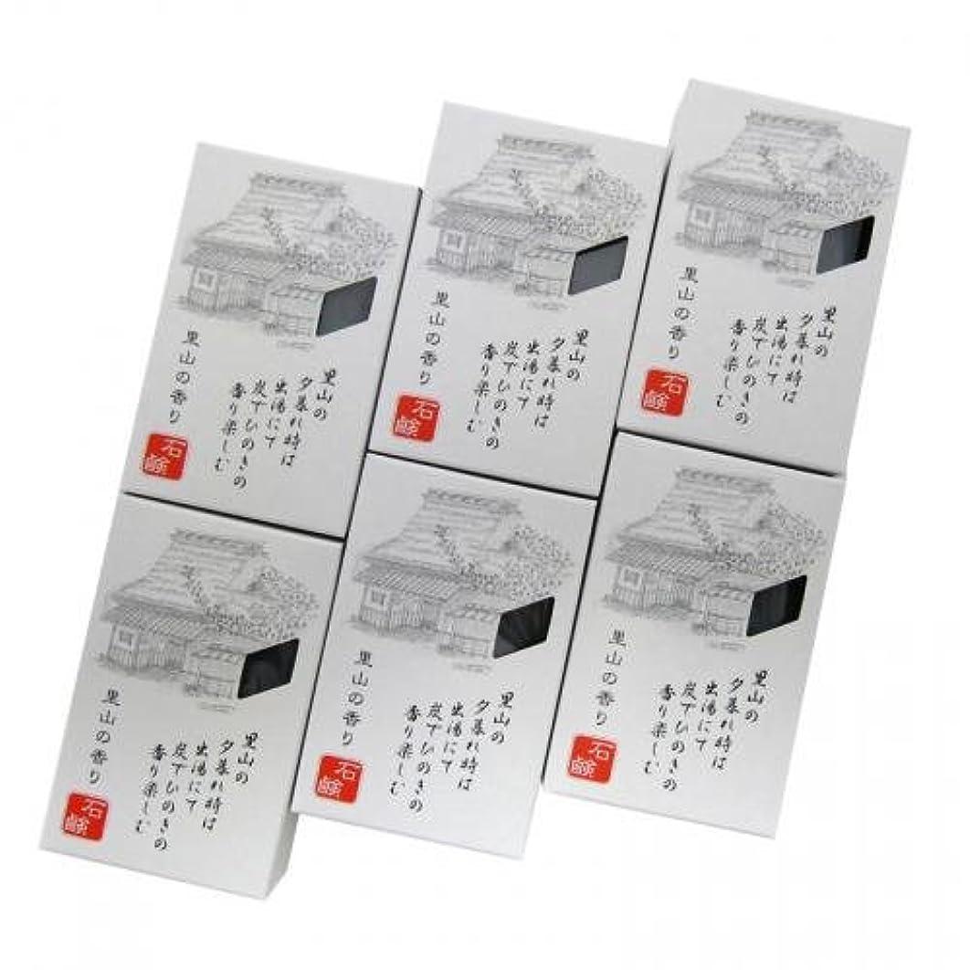 ブーム鈍い周術期ROTTS 里山の香り石鹸 100g 【6個セット】 iwasaya