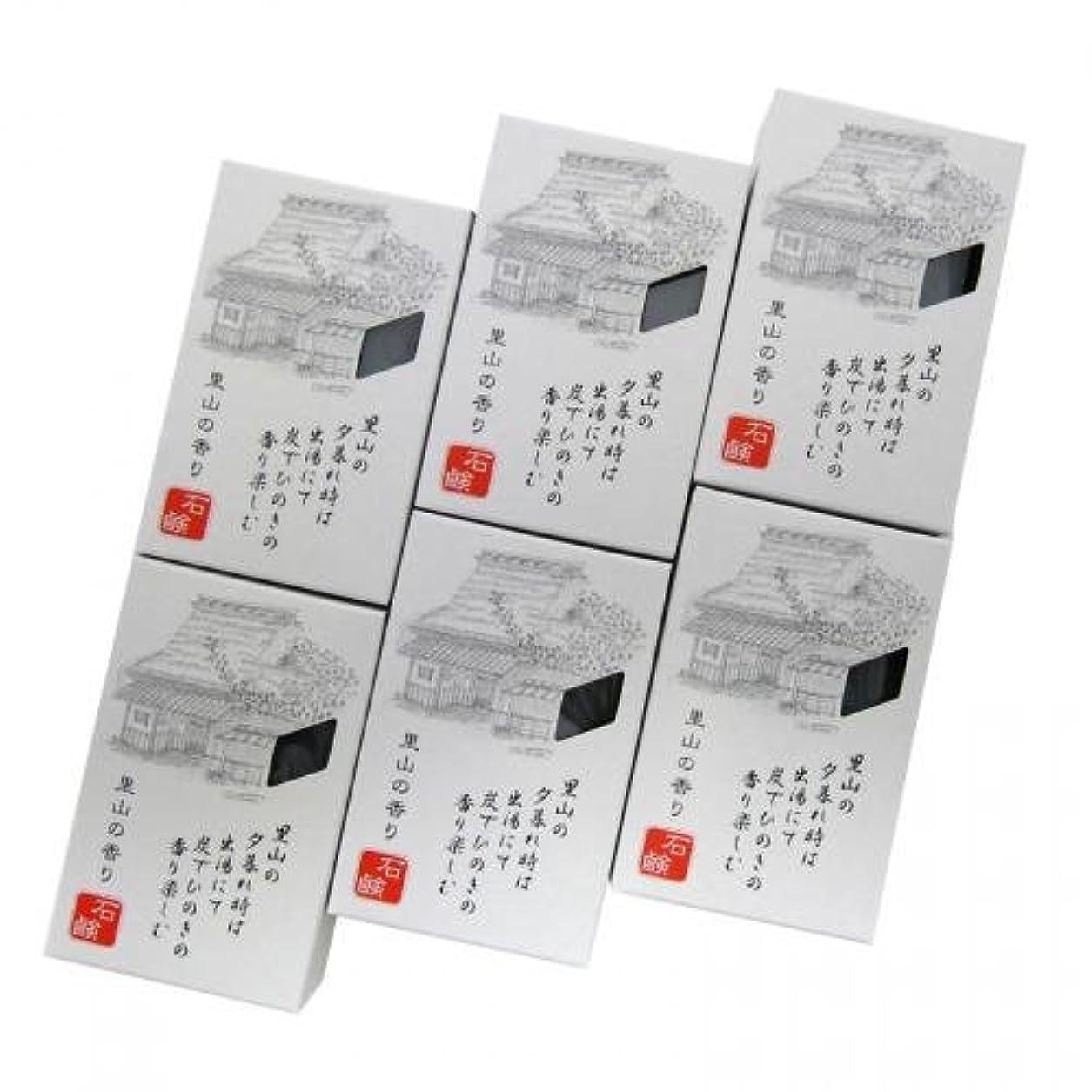 分解するエッセンス話すROTTS 里山の香り石鹸 100g 【6個セット】 iwasaya