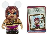 "Lisa Leglock - Disney Vinylmation ~3"" Extreme Wrestlers Series Designer Figure"