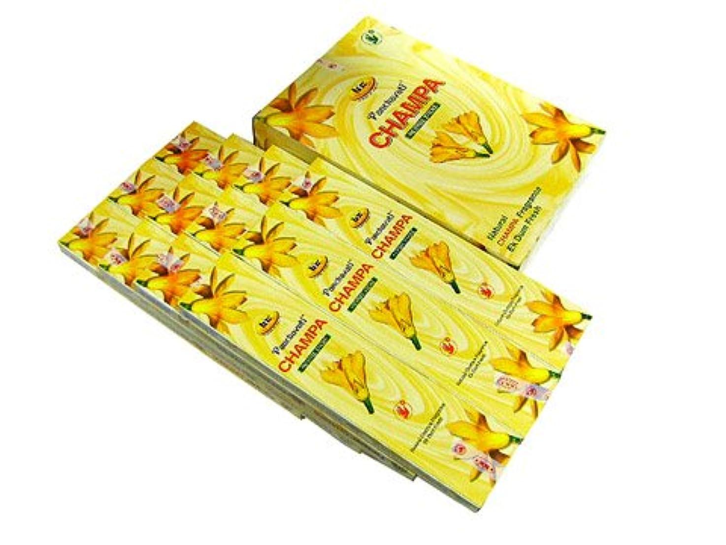 慰めチキン早いBIC(ビック) チャンパ香(レギュラーボックス) スティック CHAMPA 12箱セット
