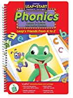 "LeapPad: LeapStart Phonics - ""Leap's Friends A to Z"" Interactive Book and Cartridge"