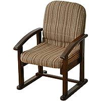 山善(YAMAZEN) 組立て要らず 立ち上がり楽々高座椅子 KMZC-55(VS1)