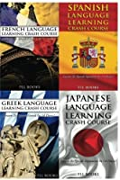 French Language Learning Crash Course + Spanish Language Learn + Greek Language Learning Crash Course + Japanese Language Learning Crash Course