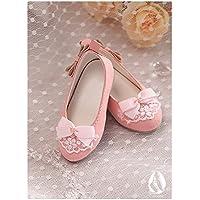 ASDOLL bjd靴 ドールシューズ bjdドール専用 4分古風人形靴/粉桜 4分シューズ 球体関節人形 4分女人形用靴
