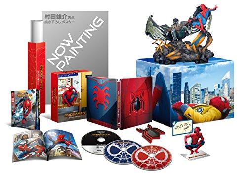 スパイダーマン:ホームカミング プレミアムBOX(2D+3D+4K ULTRA HDブルーレイ)(村田雄介描き下ろし 日本限定B3ポスター封入)(初回生産限定) [Blu-ray]
