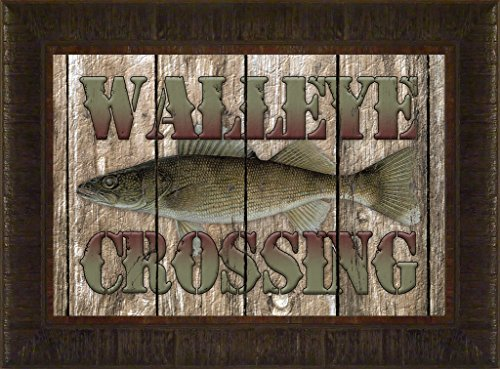 Walleye Crossing By Todd Thuns...